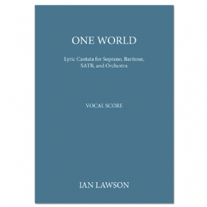 One World -  Vocal Score (Ian Lawson)